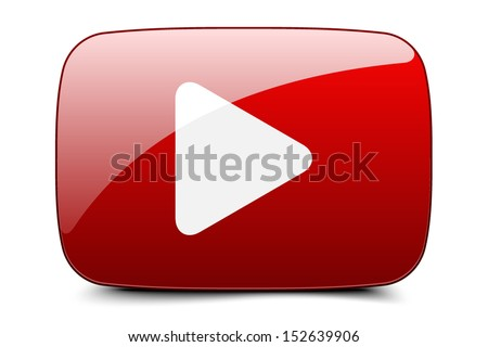 Play button - stock vector