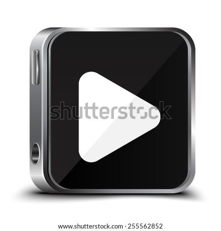 Play Button - stock vector