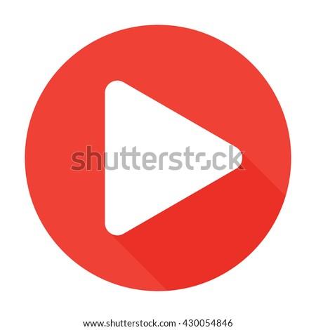 Play Icon flat, Play Icon Vector, Play Icon Object, Play Icon Image, Play Icon Picture, Play Icon Graphic, Play Icon Art, Play Icon Drawing, Play Icon JPG, Play Icon Logo, Play Icon EPS, Play Icon - stock vector