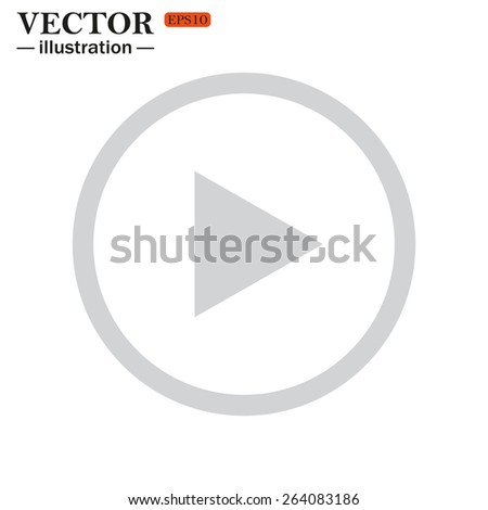 play, vector, EPS 10 - stock vector