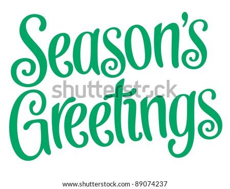 playful vector lettering series seasons greetings stock vector rh shutterstock com season's greetings free clip art clipart season greetings