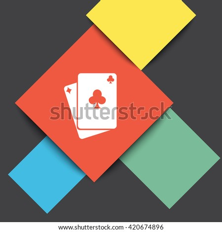 Playing Cards vector icon