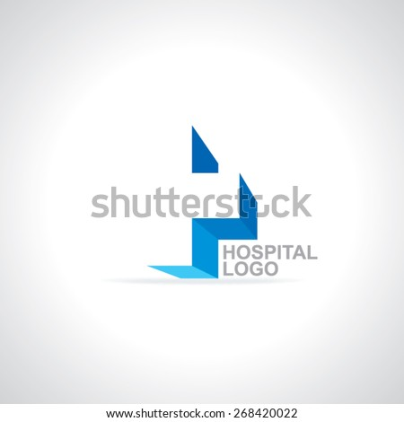 plus sign logo heath care logo concept  - stock vector
