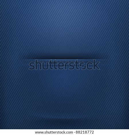Pocket jeans, vector - stock vector