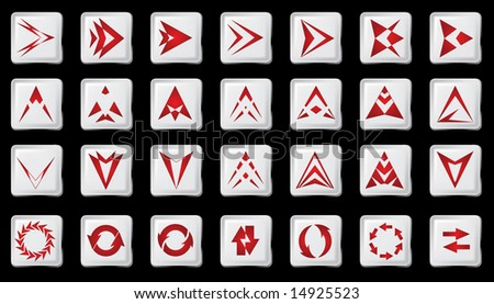Pointer for web - stock vector