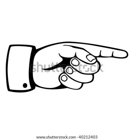 Finger Pointing Stock Images Royalty Free Vectors