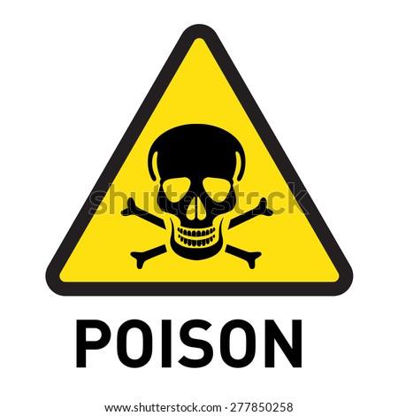 poison stock vector 2018 277850258 shutterstock rh shutterstock com poisson logistic regression coefficients poison look alike