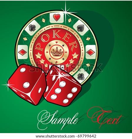 Poker - stock vector