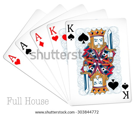 Full house cards pictures