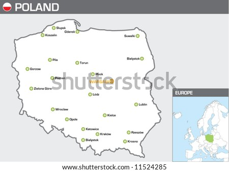 Poland - stock vector