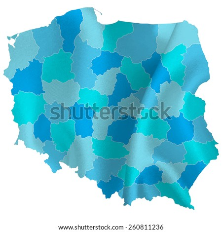 Poland map countries
