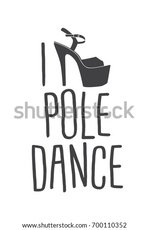 Pole dance stripper shoes  Vector exotic girls dancing platform heels  pattern  Clubbing high heels. Pole Dance Stripper Shoes Vector Exotic Stock Vector 634211078