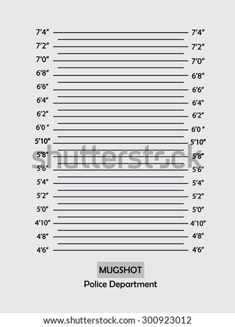 Police lineup or mugshot background,mugshot vector.vector illustration
