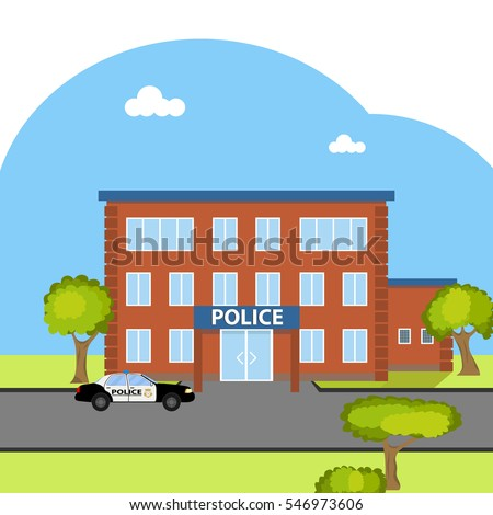 Police station clipart  Police Station Stock Images, Royalty-Free Images & Vectors ...