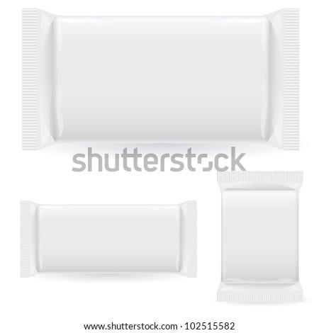 Polipropilen package. Illustration on white background - stock vector