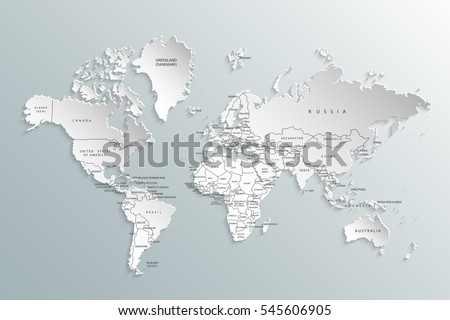 Political map world gray world mapcountries vector de stock545606905 political map of the world gray world map countries vector illustration gumiabroncs Choice Image