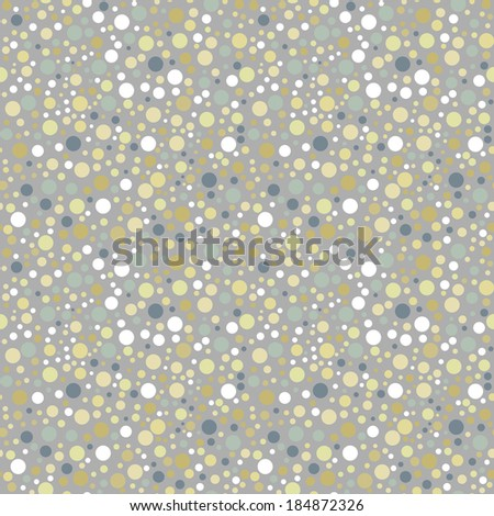 Polka dot seamless pattern. Vector illustration