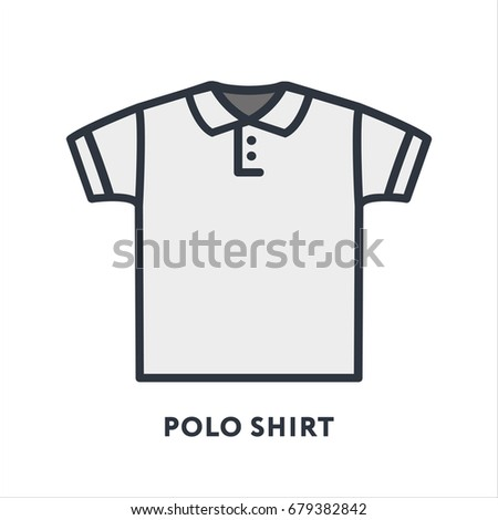 Tank top clothing undershirt minimal color stock vector for Polo shirt with undershirt