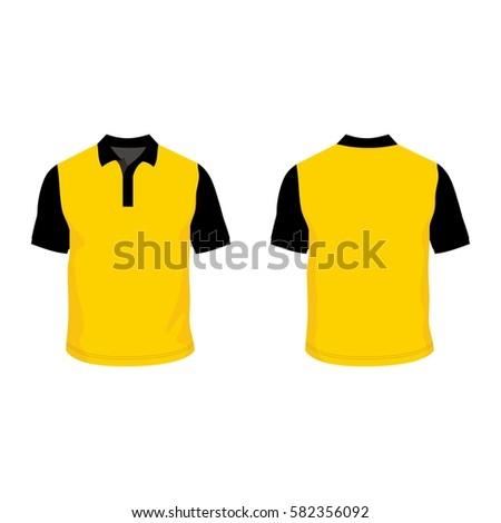 Polo Shirt Template Mock Stock-Vektorgrafik 582356092 – Shutterstock