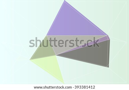 polygon mosaic art origami vector colorful color