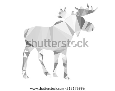Polygonal abstract moose