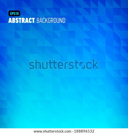 Polygonal abstract pink background for business presentation. Vector illustration. - stock vector