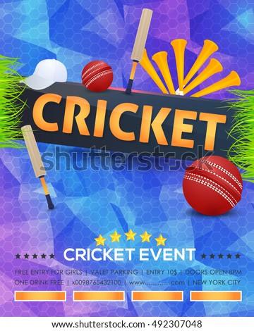 cricket tournament flyer template free ecza productoseb co