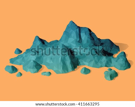 mountain scene backdrop