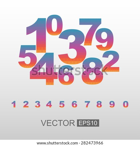 Polygonal vector number