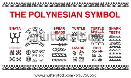 Ancient Hawaiian Symbols Lizard Tattoo S...