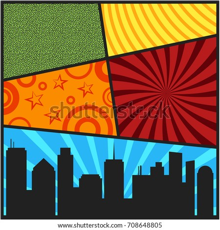 pop art templates