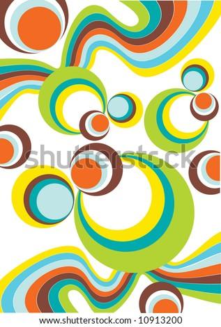 pop art pattern - stock vector