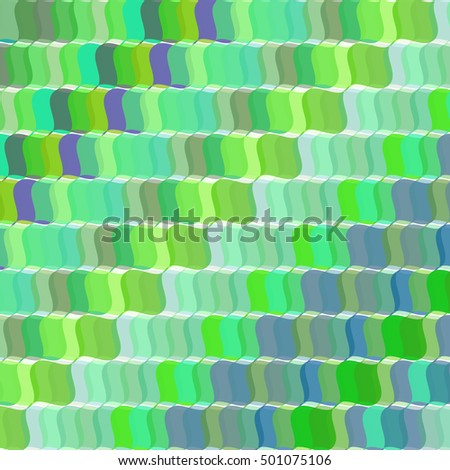 Pop art vector retro green background