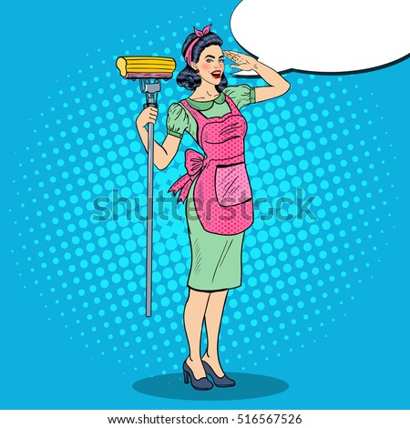 Retro Housewife Stock Images, Royalty-Free Images ...
