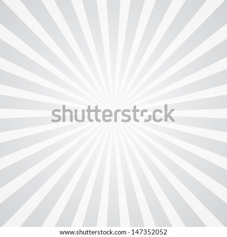 popular white ray star burst background television vintage - stock vector
