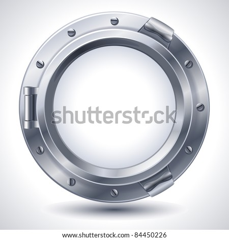 Porthole - stock vector