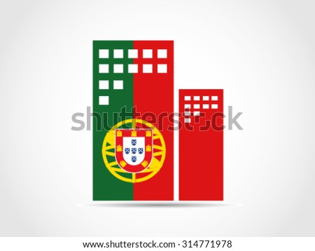 Portugal bureau stock vector 314771978 shutterstock