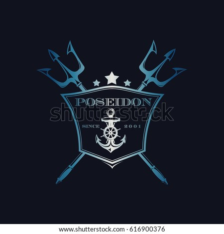 poseidon trident stock images royaltyfree images