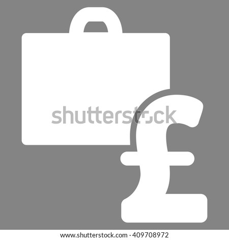 Pound Accounting vector icon.