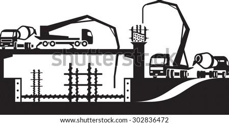 Concrete Pump Stock Images Royalty Free Images Amp Vectors