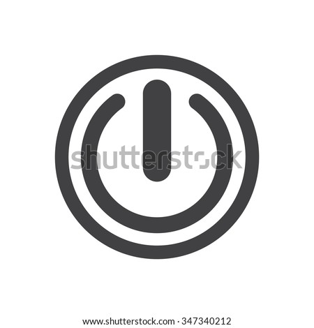 Power Button / Power Button Vector / Power Button Picture / Power Button Image / Power Button Graphic / Power Button Art / Power Button JPG / Power Button JPEG / Power Button EPS / Power Button AI - stock vector
