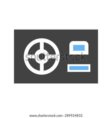 Power supply, HDMI, computer icon vector image. Can also be used for computer and hardware. Suitable for use on web apps, mobile apps and print media.