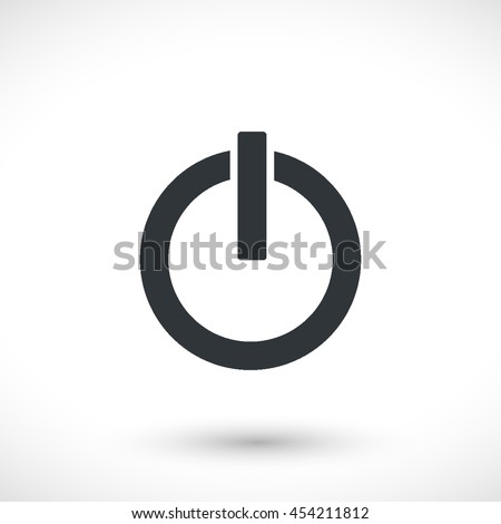 Power Vector Icon Graphic Symbol Your Stock Vector 2018 454211812