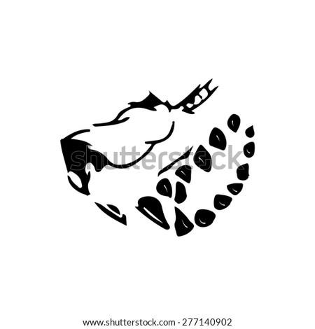 predators dangerous animals icon  - stock vector