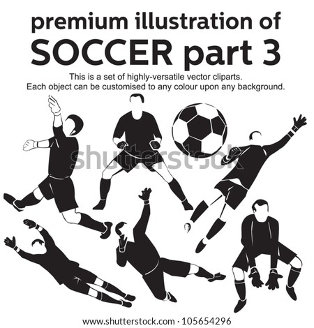 Premium Illustration Soccer Part 3