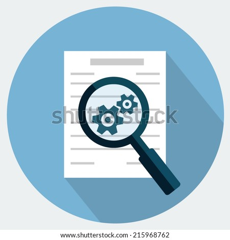 Preparation business contract icon. - stock vector