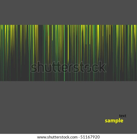 Preparation for the text in the form of small pattern - stock vector