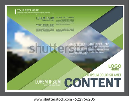 presentation layout design template annual report stock vector, Presentation templates