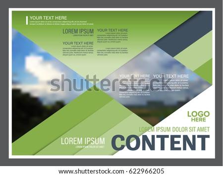 presentation layout design template annual report stock vector, Presentation templates
