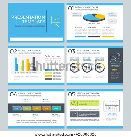 Presentation template concept business marketing power stock vector presentation template concept of business and marketing power point template element design toneelgroepblik Images